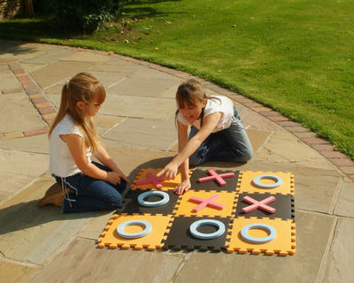 Traditional Garden Games - Puzzle-Traditional Garden Games-Jeu de Morpion géant