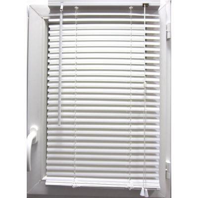 Luance - Store enrouleur-Luance-Store vénitien PVC blanc 50x130 cm