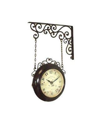 L'HERITIER DU TEMPS - Horloge murale-L'HERITIER DU TEMPS-Horloge Murale Double Face 35cm