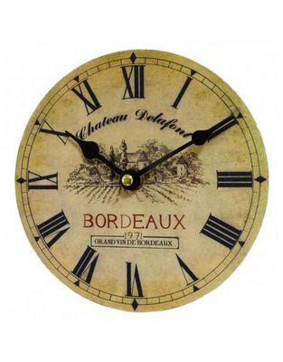 L'HERITIER DU TEMPS - Horloge murale-L'HERITIER DU TEMPS-Mini Pendule Château Delafont 16,5cm