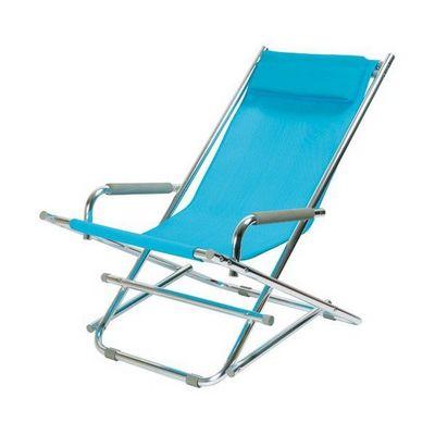 La Chaise Longue - Transat-La Chaise Longue-Chaise Longue Alu Bleu
