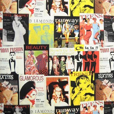 Le Quartier des Tissus - Tissu imprimé-Le Quartier des Tissus-Tissu imprime Fashion Glamour