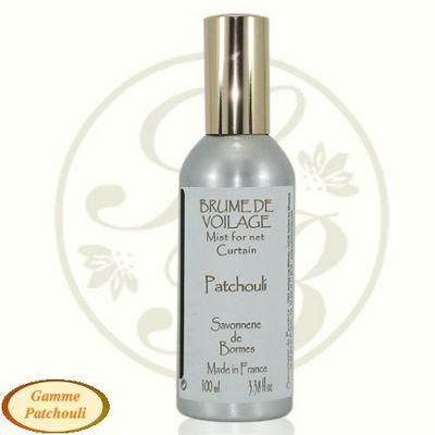 Savonnerie De Bormes - Parfum d'intérieur-Savonnerie De Bormes-Brume de voilage - Patchouli - 100 ml - Savonnerie