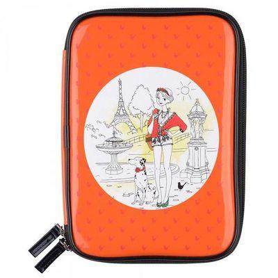La Chaise Longue - Etui de tablette-La Chaise Longue-Etui Mini Tablette Parisienne Hype Rouge