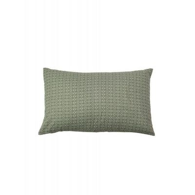 BLANC D'IVOIRE - Coussin rectangulaire-BLANC D'IVOIRE-SAMUEL