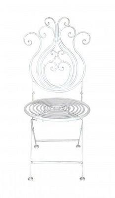 Demeure et Jardin - Chaise de jardin-Demeure et Jardin-Chaise en fer forgé  Collection Paon