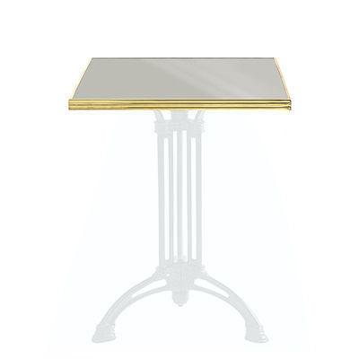 Ardamez - Plateau de table bistrot-Ardamez-Plateau de table de bistrot émaillée / gris