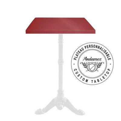Ardamez - Plateau de table-Ardamez-Plateau de table émaillé sur acier / rouge