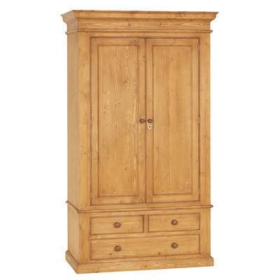 Interior's - Armoire à portes battantes-Interior's-Armoire 2 portes 3 tiroirs