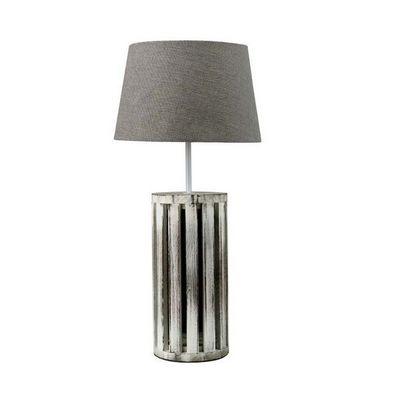 Interior's - Lampe � poser-Interior's-Lampe bois patin� Gabrielle