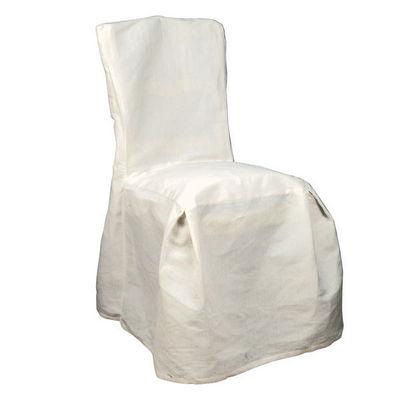Interior's - Housse de chaise-Interior's-Housse de chaise ivoire