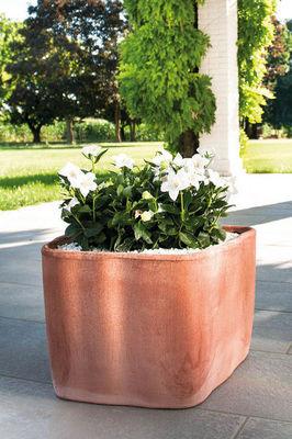DEROMA France - Pot de jardin-DEROMA France-Cubo Eva Rosso