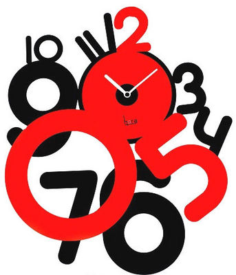 HORA - Horloge murale-HORA-Horloge contemporaine Freaky