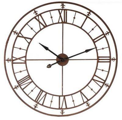 Antic Line Creations - Horloge murale-Antic Line Creations-Horloge d'usine 102cm