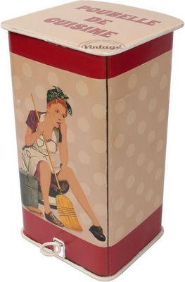 Antic Line Creations - Poubelle de cuisine-Antic Line Creations-Poubelle de cuisine Vintage