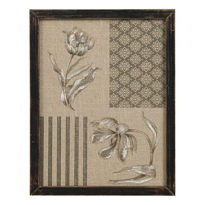 Interior's - Tableau d�coratif-Interior's-Cadre d�coratif tulipes Clair Obscur