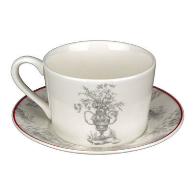 Interior's - Tasse � th�-Interior's-Tasse Toile de Jouy