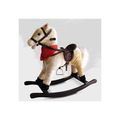 WHITE LABEL - Cheval à bascule-WHITE LABEL-Cheval à bascule jouet enfant bébé