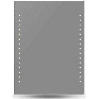 WHITE LABEL - Miroir lumineux-WHITE LABEL-Miroir lumineux led salle de bains 50x60
