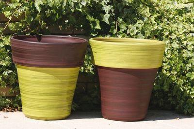 Les Poteries Clair de Terre - Pot de jardin-Les Poteries Clair de Terre-Eucalyptus