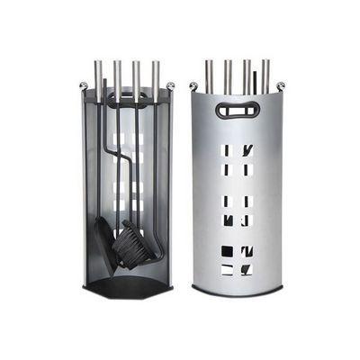 WHITE LABEL - Serviteur de cheminée-WHITE LABEL-Serviteur valet accessoires de cheminée