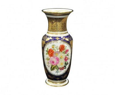 Demeure et Jardin - Vase d�coratif-Demeure et Jardin-Paire de Vases Style Bayeux
