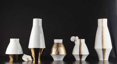 Haviland - Vase � fleurs-Haviland-Infini et Graphic