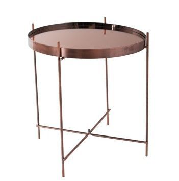 Mathi Design - Bout de canapé-Mathi Design-Table salon Cuivre