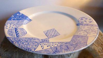 Tywacs Créations - Assiette plate-Tywacs Créations