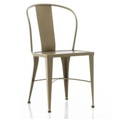 Mathi Design - Chaise-Mathi Design-Chaise m�tal Coffee