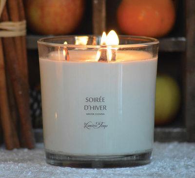 LES LUMIÈRES DU TEMPS - Bougie parfumée-LES LUMIÈRES DU TEMPS-Bougie mèches bois crépitantes
