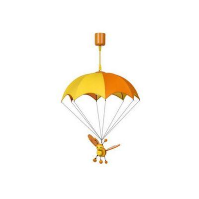 LUCIDE - Lampe à poser enfant-LUCIDE-Suspension enfant en bois Bee