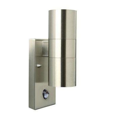 Nordlux - Applique d'extérieur-Nordlux-Applique extérieure double Tin avec détecteur