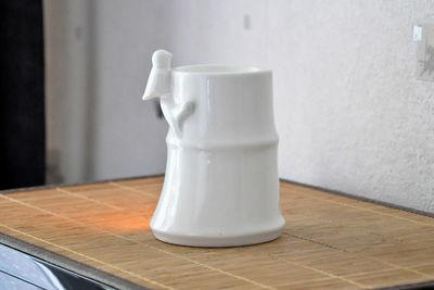 ZEN AROME - Br�le parfum-ZEN AROME-Brule parfum Bambou en c�ramique laqu�e