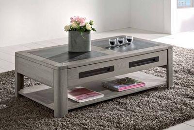 Ateliers De Langres - Table basse rectangulaire-Ateliers De Langres-DEAUVIL