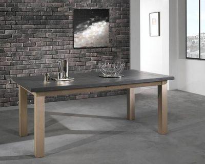 Ateliers De Langres - Table de repas rectangulaire-Ateliers De Langres-WHITNEY