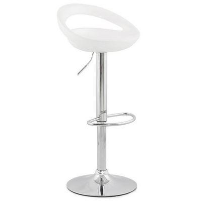 KOKOON DESIGN - Chaise haute de bar-KOKOON DESIGN-Tabouret de bar V�nus Blanc