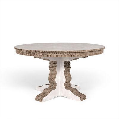 Corvasce Design - Table de repas ronde-Corvasce Design-Tavolo tondo Columbia