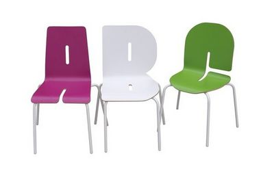 TABISSO - Chaise empilable-TABISSO