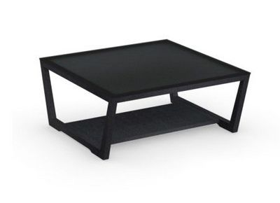 Calligaris - Table basse carrée-Calligaris-Table basse ELEMENT de CALLIGARIS en verre trempé