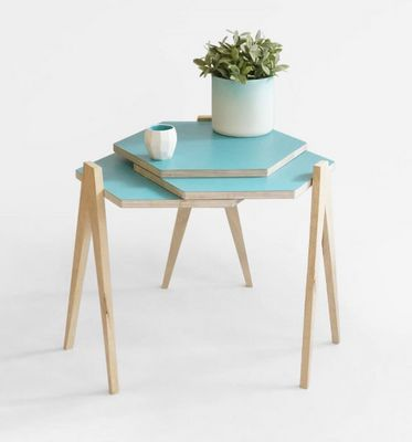 STUDIO LORIER - Table basse forme originale-STUDIO LORIER-Slide