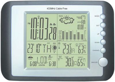 GARDMAN - Thermomètre-GARDMAN-Station météo digitale de luxe