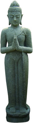 STATUES DU MONDE - Statuette-STATUES DU MONDE-Statue Bouddha debout en salutation