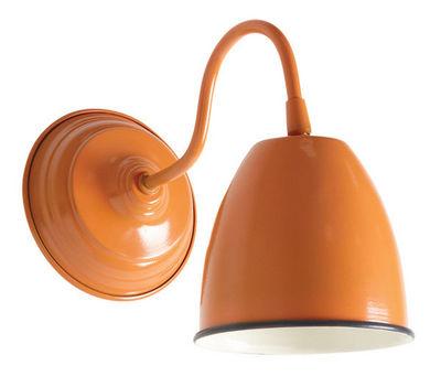 Aubry-Gaspard - Applique-Aubry-Gaspard-Applique murale en métal laqué Orange