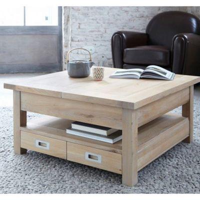 ARTI MEUBLES - Table basse carrée-ARTI MEUBLES-Table basse TORONTO