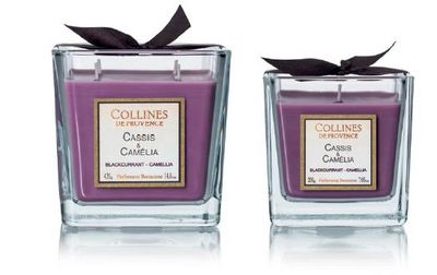 Collines De Provence - Bougie parfumée-Collines De Provence-Cassis & Camélia-
