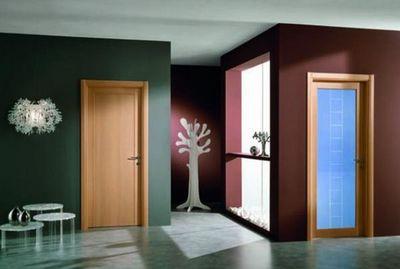 Passage Portes & Poignées - Porte de communication pleine-Passage Portes & Poignées-Genia