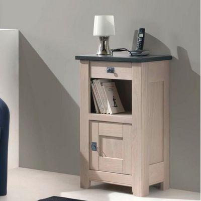 Ateliers De Langres - Table téléphone-Ateliers De Langres-Meuble téléphone WHITNEY