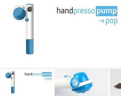 Handpresso - Machine expresso portable-Handpresso-Handpresso Pump Pop bleu