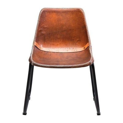 Kare Design - Chaise-Kare Design-Chaise Vintage cuir marron